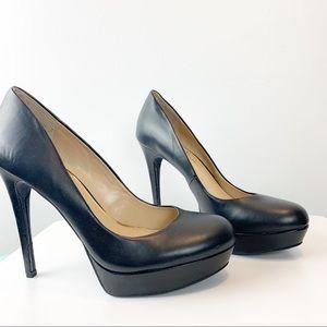 Jessica Simpson | Black Leather Pumps | NWOB